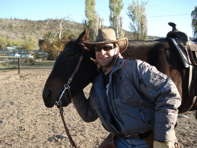 personal trainer vancouver - George riding horse